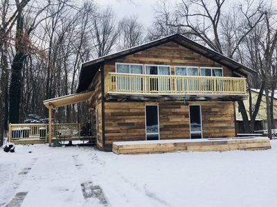 Photo for Seven Springs & Ohiopyle Private Cabin - Stunning Views on Roaring Run