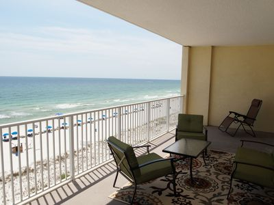 Photo for Unit 608: NEW Beautiful Beach Front Condo!  6th floor unit w/ amazing views!