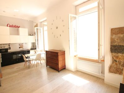 Photo for Loft spacious - Close beaches - Menton