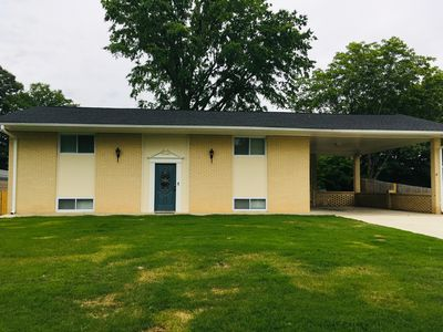 Photo for 4BR Split Level Home Perfect for 2 Families 8 miles to LakePoint Sports Compl