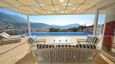 Photo for Villa Marie - 3 bedroom villa in beautiful natural setting with great views