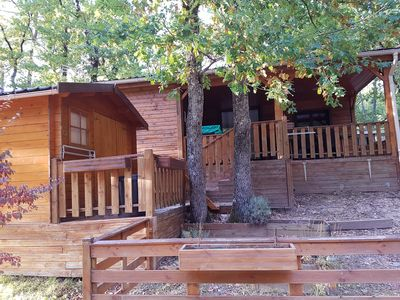 Photo for cocooning cottage in residential campsite