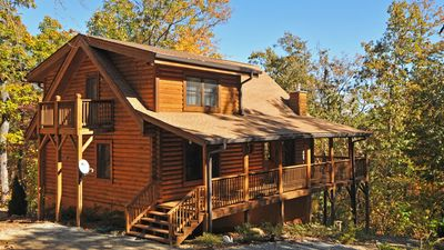 Photo for Clean Log Home, Central to DuPont, Pisgah, Brevard and Hendersonville!
