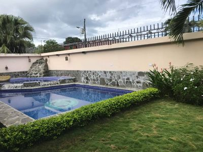 Photo for Central Jaco House - Large private pool & Jacuzzi!