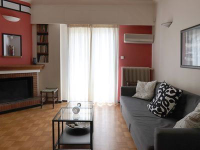 Photo for Romantic Apt with Penthouse & Acropolis View