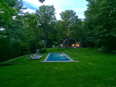 Photo for Walk to village East Hampton home - hidden from busy main town area and roads.