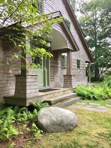 Photo for Shore front home in a charming summer community