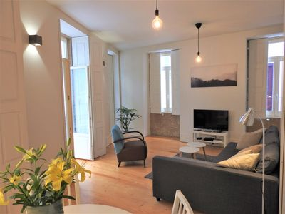 Photo for Oporto Delight 2.1-Luxury Apartment in Historic Center with Balcony 2-4 p