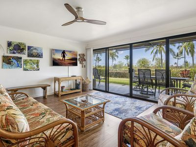 Photo for Keauhou Punahele E-102 Ground Floor, Spacious Lanai, Personal BBQ, VERY Quiet