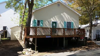 Photo for Clean, Comfortable Beach Cabin at 1361 Dolphin Dr in Ocean Lakes