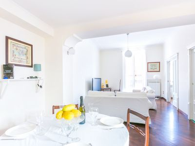 Photo for Lovely Apartment in the centre of Sorrento by Piazza Tasso with balcony and terrace