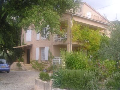 Photo for PEACEFUL VILLA IN A SMALL VILLAGE IN PROVENCE
