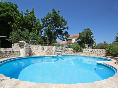 Photo for 4 bedroom Villa, sleeps 8 in Vodice with Pool, Air Con and WiFi