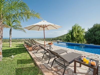 Photo for El Vistamar Finca- Amazing Property with Stunning Sea Views and Infinity Saltwater-Pool ! - Free WiFi