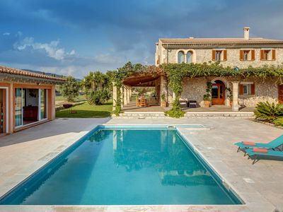 Photo for With pool in a rural idyll - Villa Ses Quelites