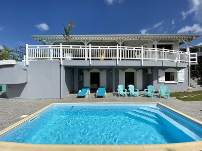 Photo for Luxury villa, 12 people, 2 swimming pools, 6 bedrooms, 3 bathrooms, sea and golf view