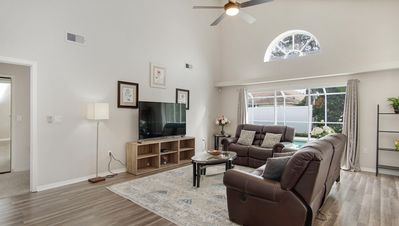 Photo for The Romantic villa, 3 miles away from Walt Disney world, private pool and spa