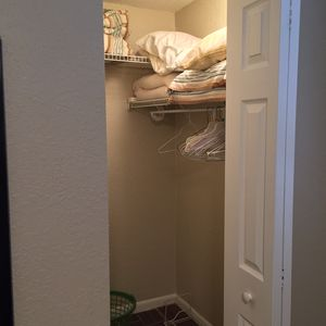 Bedroom walk-in closet