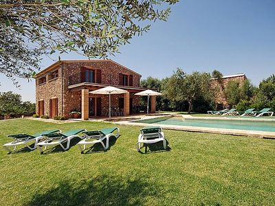 Photo for Vacation home Moreres in Llubí - 8 persons, 4 bedrooms