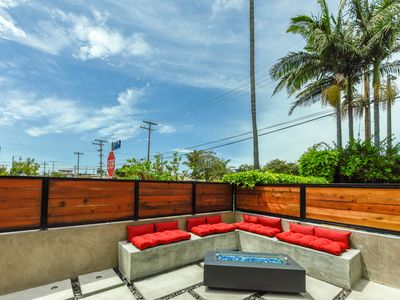 Photo for True Luxury in Venice, all new, custom finishes, fire pit, tile mosaic walls