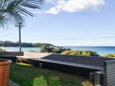 Photo for THE GLASS HOUSE @ MOLLYMOOK BEACH - Beach Front Property