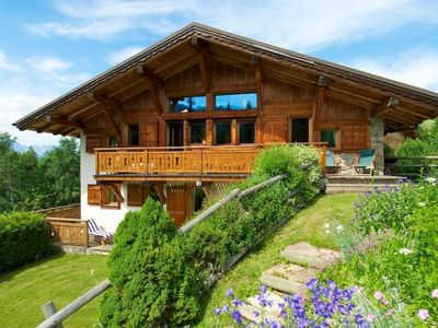 Photo for Savoyard chalet in a quiet corner of Mont d'Arbois, 300m from the ski area