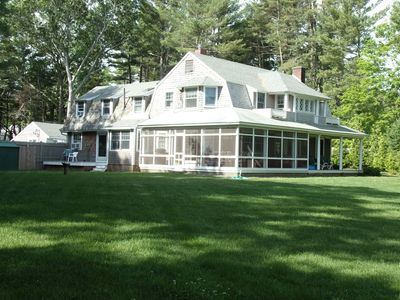 Photo for Spacious Summer Cottage in South Duxbury with Bay View