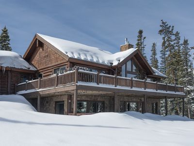 Photo for Log Home with Breathtaking Views