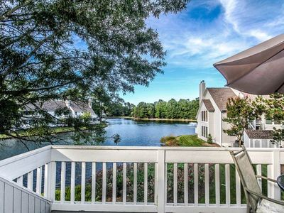 Photo for Lake View! 2 BR / 2 BA condo in Bethany Beach, Sleeps 8
