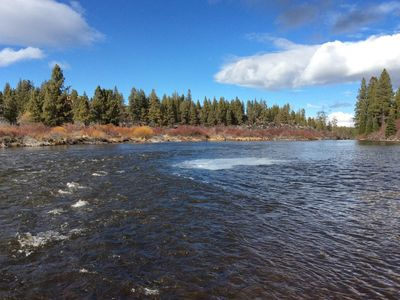 Photo for River View with Access,10 min from downtown Bend/ Fishing, Hiking, Biking