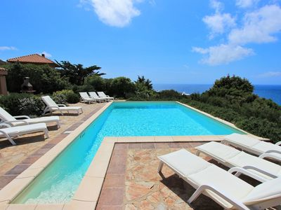 Photo for Villettta Chessi Arancia, pool, air conditioning, wifi, 250 m from the sea