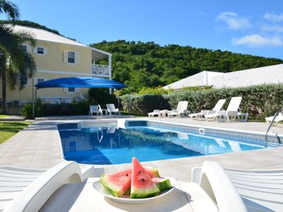 Photo for Luxury Villa Jolly Harbour & five Beaches close by.