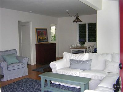 Front Room W/ Roomy Sectional Couch and Ocean Views!