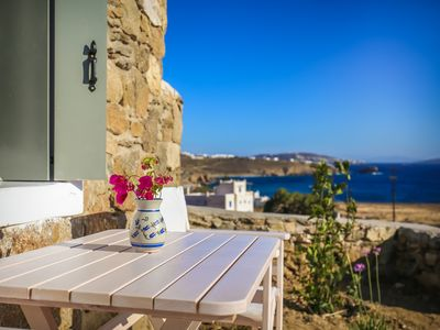 Photo for Sea View One Bedroom Apartment Mykonos