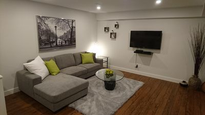 Photo for Modern, clean, bright and spacious one bedroom lower suite