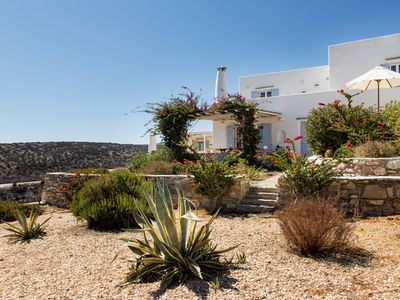 Photo for PAROS , TRIPITI VILLA WITH BREATHTAKING VIEW