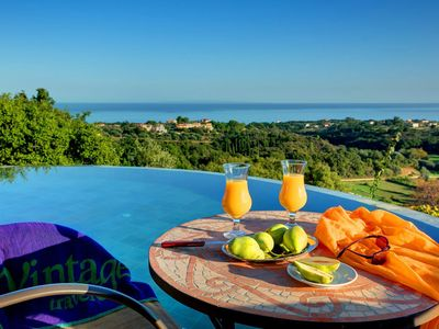 Photo for Skala Villa, Sleeps 4 with Pool, Air Con and WiFi