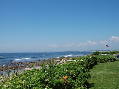 Photo for Direct Oceanfront - Superb Views - Pvt. Assn. Beach - Pt Judith/Breakwater Vill.
