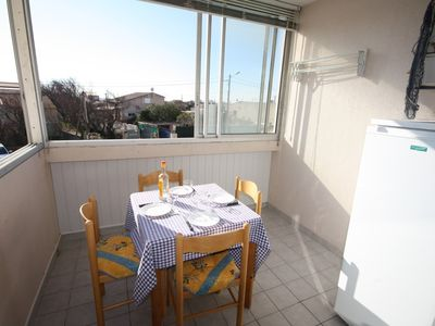 Photo for Pretty T2 near beach. South exposure for 4 people. In a residence ...