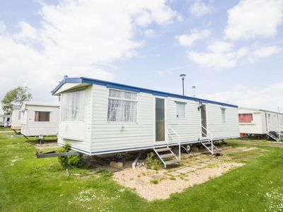 Photo for Luxury 8 berth caravan for hire at Heacham holiday park in Norfolk ref 21030
