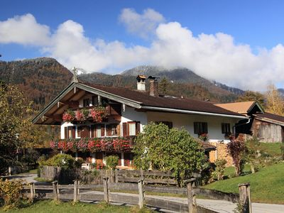 Photo for Family-friendly apartments in Kreuth overlooking the Blauberge