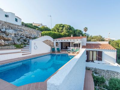 Photo for With Pool and Fantastic View of the Sea - Villa Mar y Roca