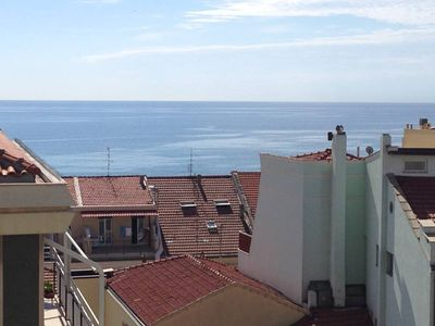 Photo for marvelous three bedrooms flat at 100 mt from the sea