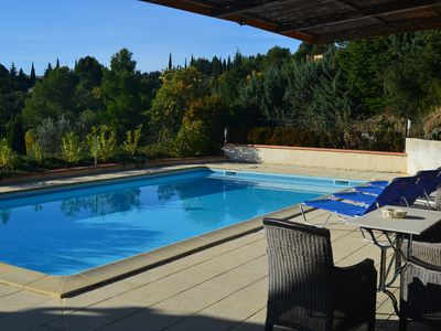 Photo for Villa In Caunes With Large Private Pool And Stunning Views. Flexible changeover.