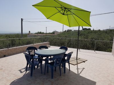 Photo for Holiday home surrounded by olive trees