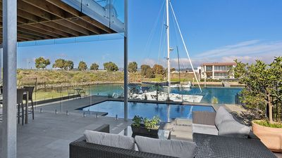 Photo for Boat Paradise - Pool, Pontoon and Modern House
