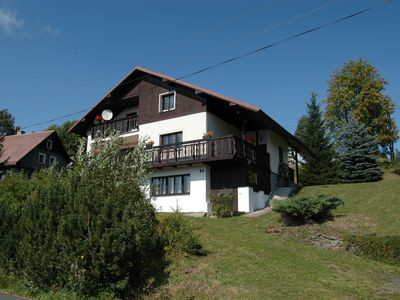 Photo for Spacious cottage in the Giant Mountains, 1 km from the skislopes