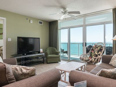 Photo for Oceanfront 3 bedroom beauty which offers all the right amenities   Blue Water Keyes - 1206