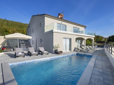 Photo for Bluebell Villa - Newly Built Stylish Villa with Private Pool in a Peaceful Location with Amazing Sea Views !  - Free WiFi
