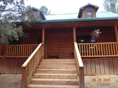 Photo for Central Location, Next to Groceries, Hot Tub, Wood Stove, Pet/Family Friendly
